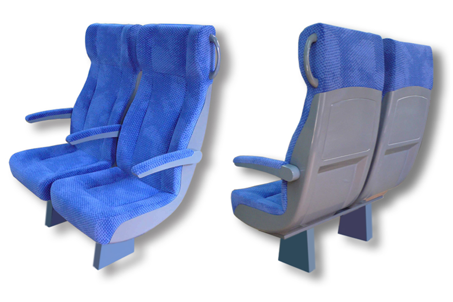 Mock-up of seat